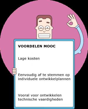 Voordelen van een MOOC